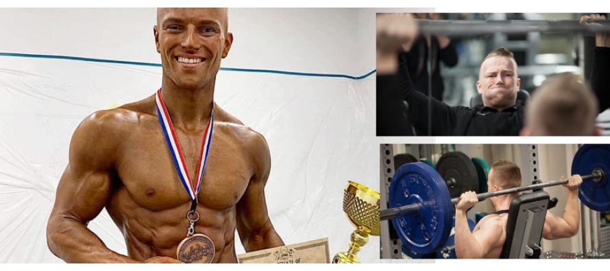 WEB-TV: Dan Mikael Helgestad (23) til topps i Mens Phsyique