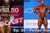 iForm.no – Bodybuilding & Fitness Podcast – Ep. 26 – Petter Vindenes