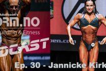 iForm.no – Bodybuilding & Fitness Podcast – Ep. 30 – Jannicke Kirkelund
