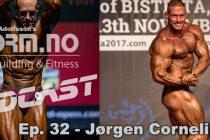 iForm.no – Bodybilding & Fitness Podcast – Ep. 32 – Jørgen Corneliussen