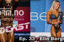 iForm.no – Bodybuilding & Fitness Podcast – Ep. 33 – Elin Bergstrøm