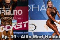 iForm.no – Bodybuilding & Fitness Podcast – Ep. 39 – Ailin-Mari Høidahl Bøe