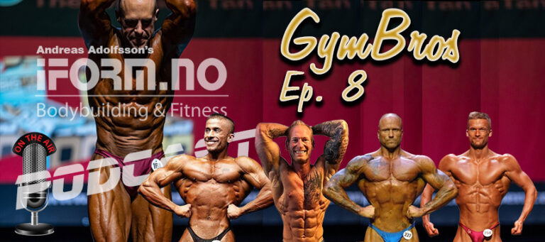 Bodybuilding & Fitness Podcast - GymBros - Ep. 8