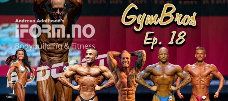 Bodybuilding & Fitness Podcast - GymBros - Ep. 18